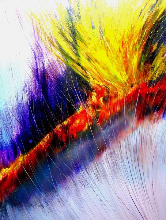 Neon Forest - Dave E. Iles Fine Art
