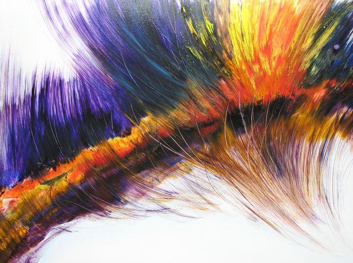 Angel Fire - Dave E. Iles Fine Art