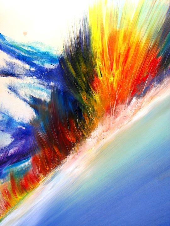Atomic Sun - Dave E. Iles Fine Art