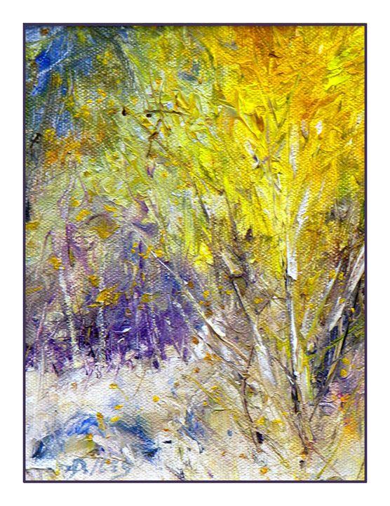 Early Snow - Dave E. Iles Fine Art