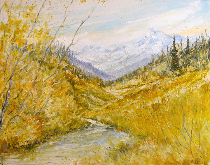 Tin cup Pass, Colorado - Dave E. Iles Fine Art