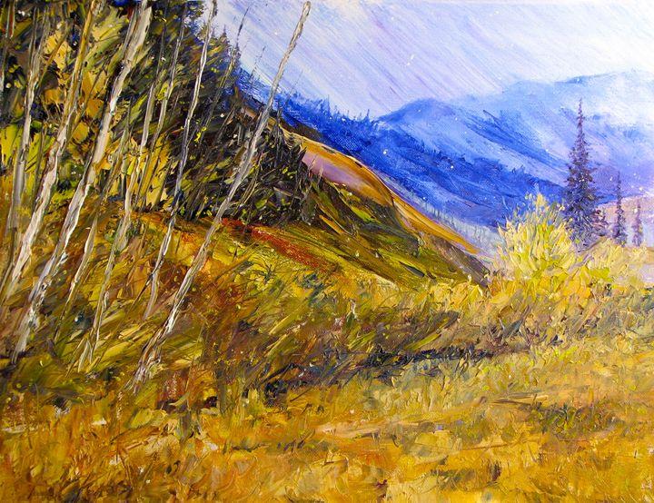 Mystic Mountain - Dave E. Iles Fine Art