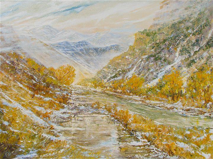 Arkansas River, Colorado - Dave E. Iles Fine Art