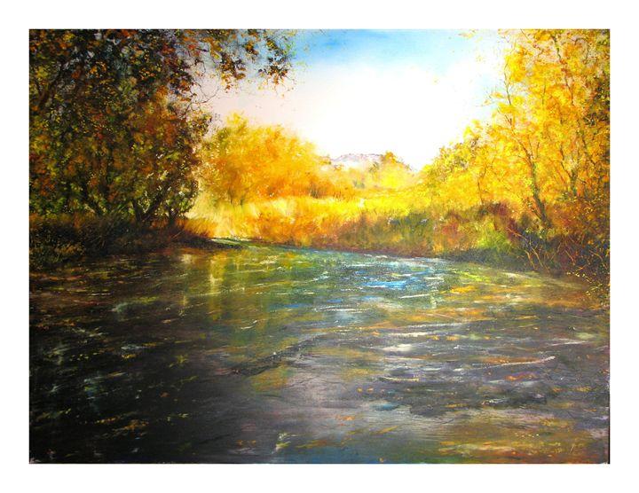Fall In The West - Dave E. Iles Fine Art
