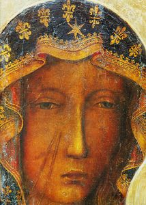 Face of Our Lady of Czestochowa