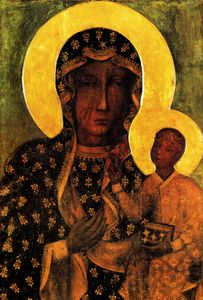 Black Madonna of Czestochowa icon