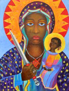 Erzulie Dantor Haiti voodoo art