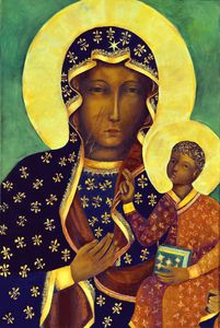 Black Madonna of Czestochowa Poland