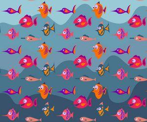 Aquarium fish pattern