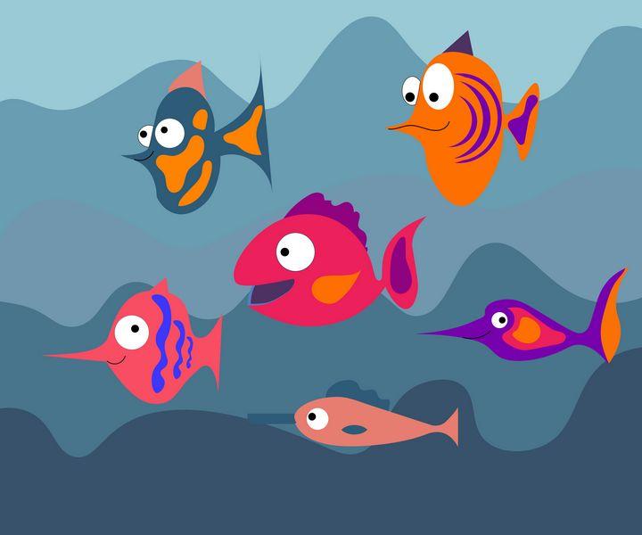 Aquarium fish - Olga Arroway