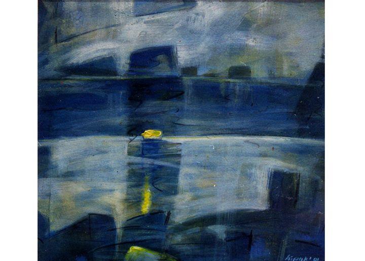 Landscape II - Paintings by Dipak Seal
