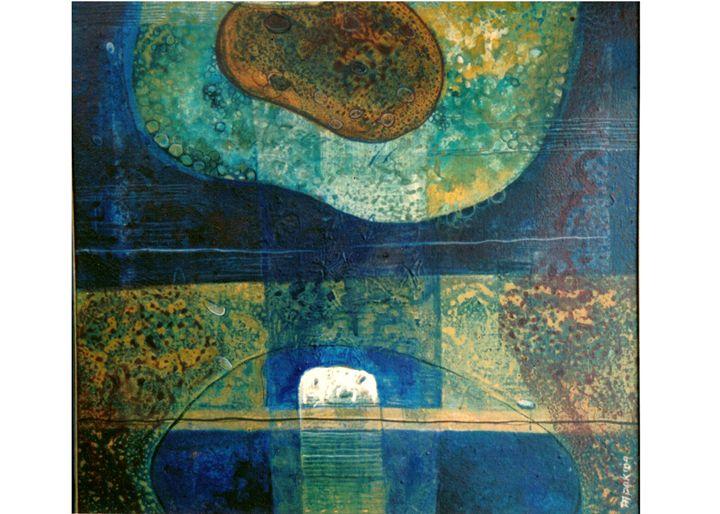 Untitled - Paintings by Dipak Seal