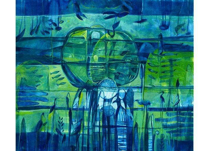 Eternity III - Paintings by Dipak Seal