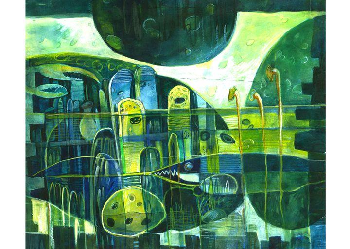 Eternity IV - Paintings by Dipak Seal