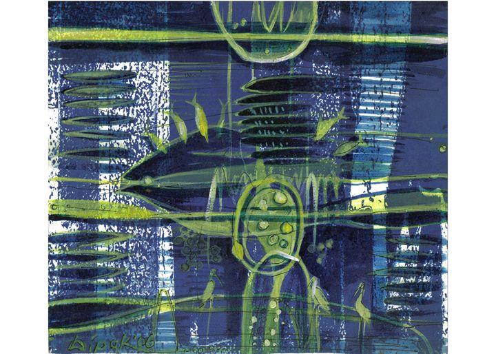 Eternity VI - Paintings by Dipak Seal