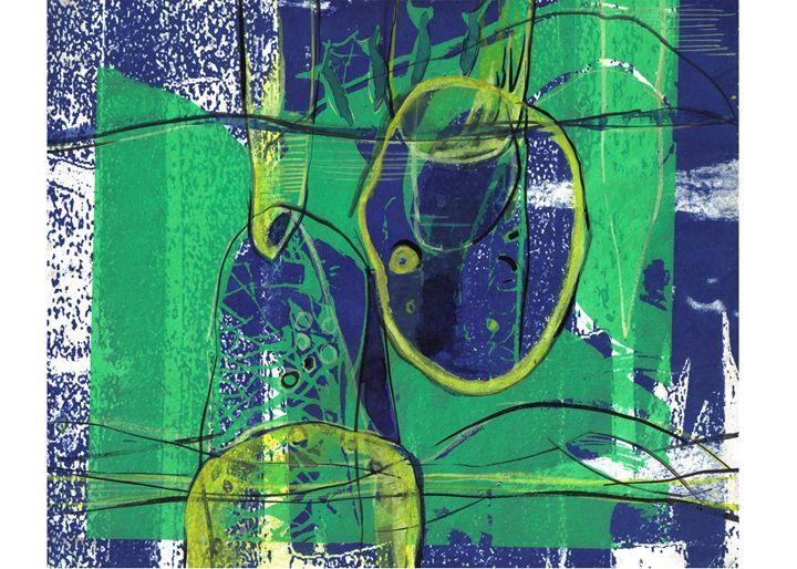 Eternity VII - Paintings by Dipak Seal