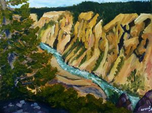 Yellow Stone's canyons