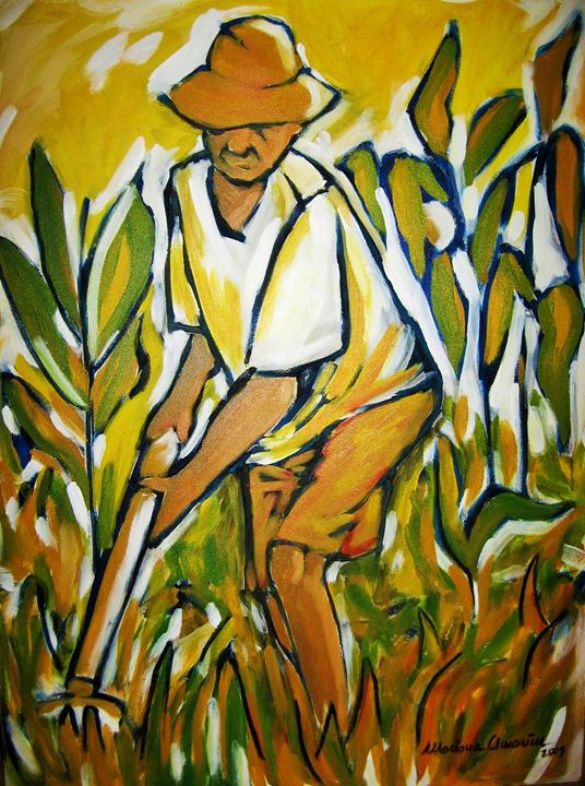 Rural worker - Mariana Amorim