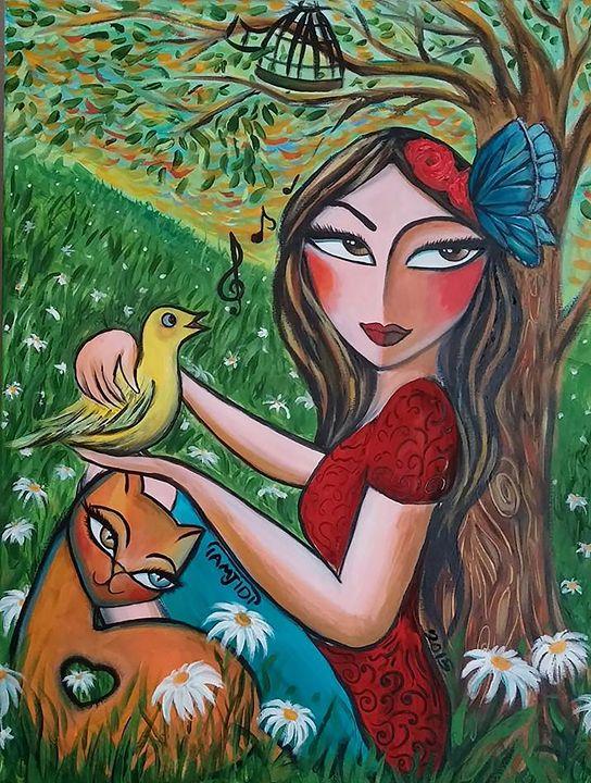 Retour du printemps - Gallery de Sara Tamjidi