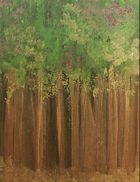 Trees in Bloom - Katie Kaboom Art