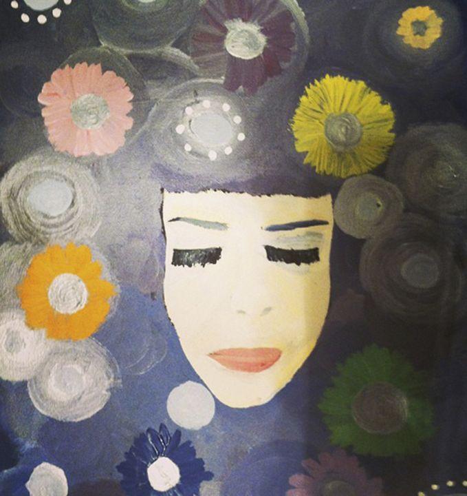 Overwhelmed - Katie Kaboom Art