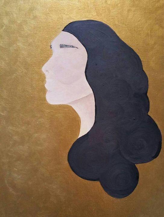 I'm Not Here - Katie Kaboom Art