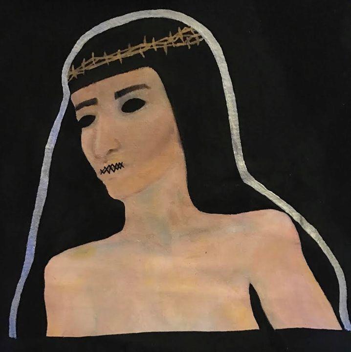 Martyred - Katie Kaboom Art
