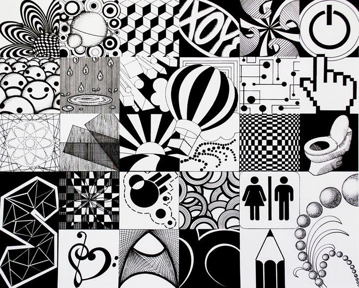 2-D Micron Drawing - Sarah Shinn