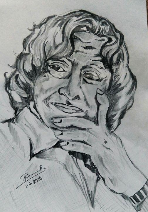 A.P.J .Abdul kalam - Roshni.R