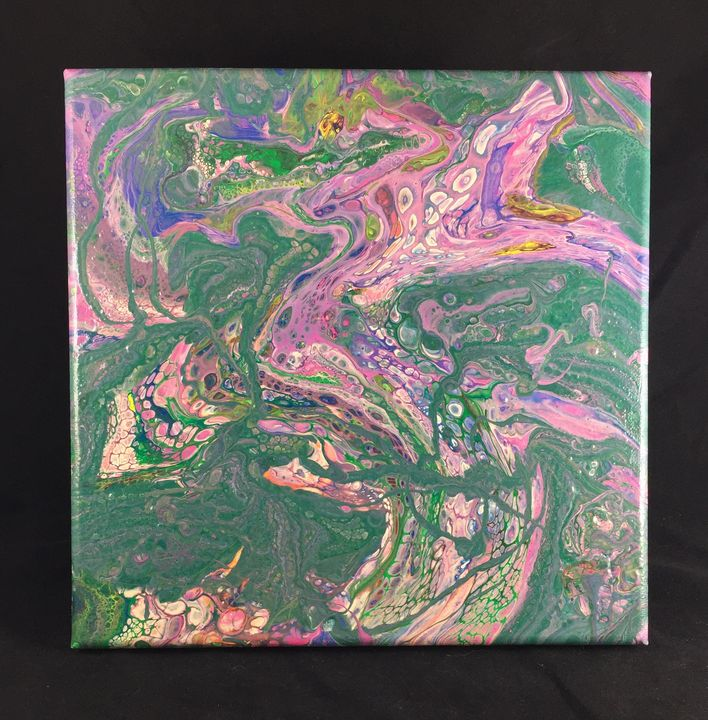 "10x10"" - ""Secrets of Insanity"" - Pour Girl"