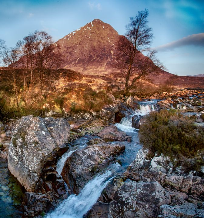 Glen Coe Mountain stream - Ceri David Jones