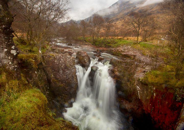 Lower Falls, Ben Nevis - Ceri David Jones