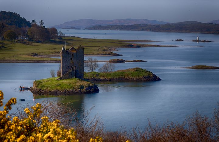 Castle Stalker, Appin - Ceri David Jones