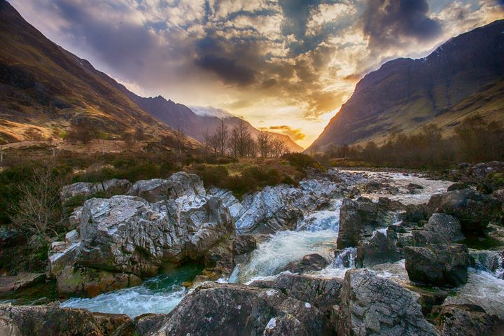 Glen Coe Cascades - Ceri David Jones