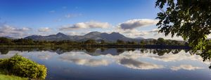 Snowdonia viewed from Porthmadog