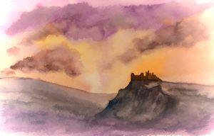 Carreg Cennin Sunset