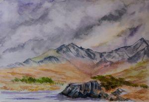Snowdon from Llynnau Mymbyr