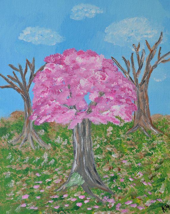Pink Tree - Epanouie