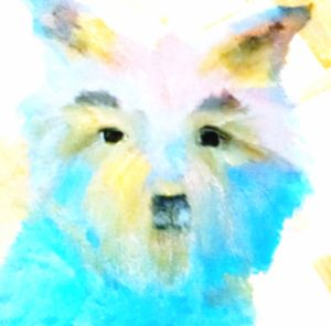 Dog Art Collection Welsh Terrier - EricaJ-LA Dog Portraits