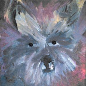 Carin Terrier Painting - EricaJ-LA Dog Portraits