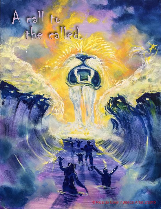 THE CALLED - Prophetic art/SilentPreacher