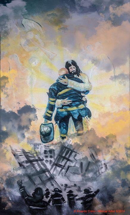 911 - Prophetic art/SilentPreacher