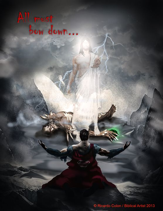 ALL MUST BOW DOWN - Prophetic art