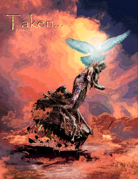 TAKEN - Prophetic art/SilentPreacher