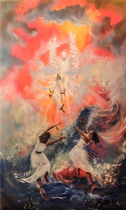 THE SCROLL - Prophetic art/SilentPreacher
