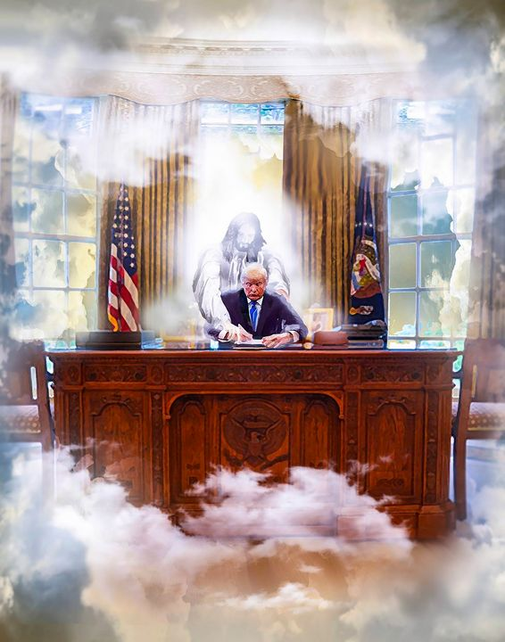 inauguration trump - Prophetic art/SilentPreacher