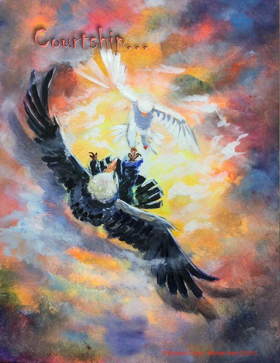 COURTSHIP - Prophetic art/SilentPreacher