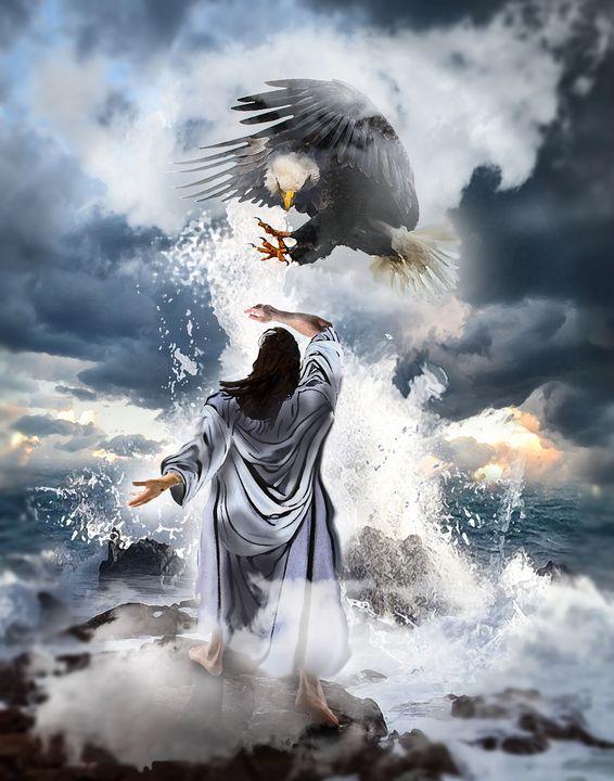 returning - Prophetic art/SilentPreacher