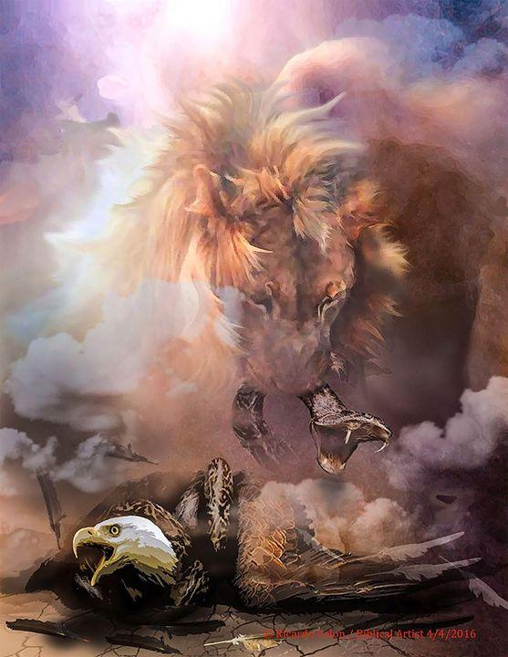 PRAY FOR AMERICA!!! - Prophetic art/SilentPreacher