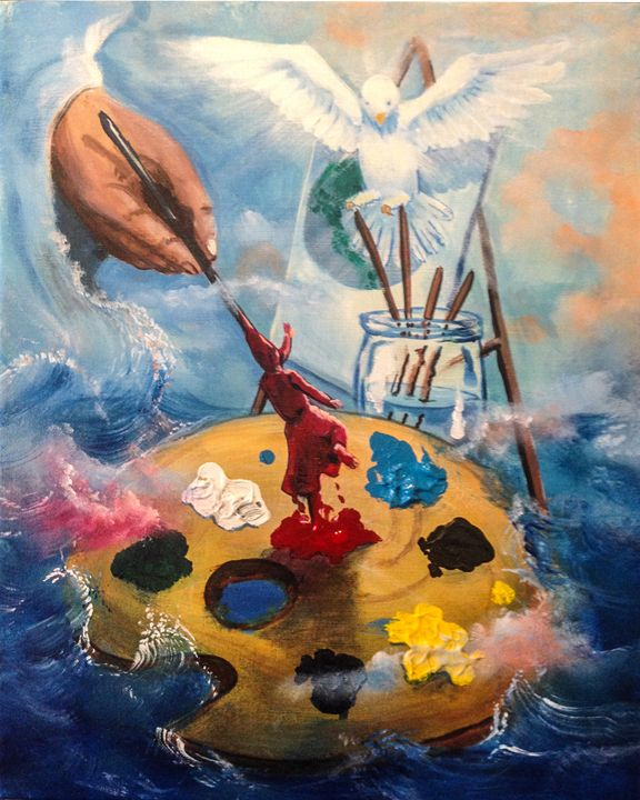 ARTIST PALETTE - Prophetic art